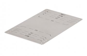 УПМК-Панда комплект с шаблоном для крепления муфт