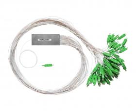 Оптический сплиттер PLC 1x64 0.9мм 65SC/APC