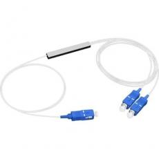 Оптический сплиттер PLC 1x2 0.9мм 3SC/UPC