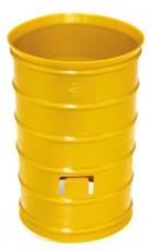 Муфта для двустенной трубы, d=90 мм