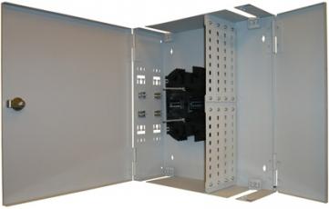 Кросс настенный 48 портов (FC/SC/LC, укомплектованный)