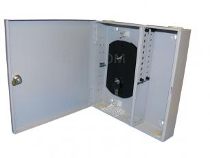 Кросс настенный 16 портов (FC/SC/LC, укомплектованный)