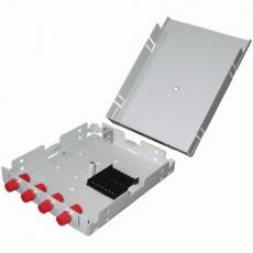 Кросс настенный 4 порта (FC/SC/LC, укомплектованный)