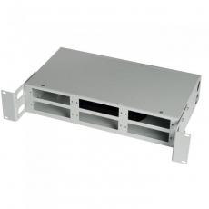Кросс стоечный 2U 32/48 порта (FC/SC/LC, укомплектованный)