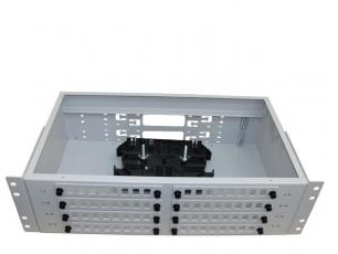 Кросс стоечный 3U 64/96 портов (FC/SC/LC, укомплектованный)