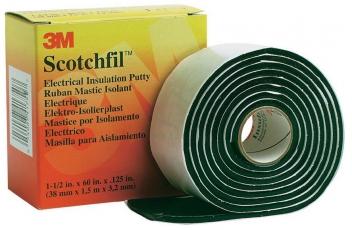 Scotchfil, электроизоляционная мастика, 38мм х3,2мм х1,5м