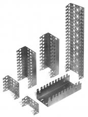Монтажный хомут 2/10 для 22 модулей, глубина 22 мм, с перфорацией между секциями