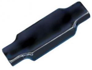 Соединитель однопарный, черный, для жил 0,9-1,5 мм, диаметр изоляции до 4,4 мм